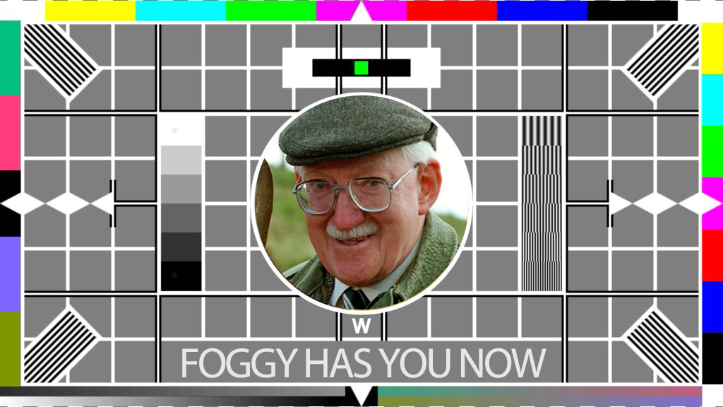 BBC test card Foggy